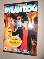 Bonelli Dylan dog 7 La Zona Del Crepuscolo Quaderno Cartonato con calcolatrice