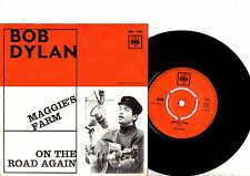 BOB DYLAN 7'' PS Maggies Farm Sweden NICE CONDIITION CBS 1781 Swedish 45!!