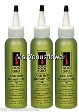 3 x Doo Gro Anti Itch Growth Oil