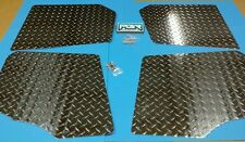 Polaris Ranger XP800 Crew 2010-2014 UTV DIAMOND PLATE FLOOR XP FRONT AND REAR
