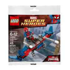 LEGO 30302 Marvel Super Heroes Spider-Man Spiderman Glider Polybag Minifigure