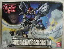 BANDAI HG 1/144 EW-07 GUNDAM SANDROCK CUSTOM WING ENDLESS WALTZ MODEL KIT