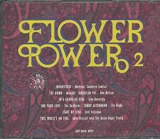 FLOWER POWER 2CD: VOL.2/MELANIE DON McLEAN YARDBIRDS BLUE CHEER RAIDERS REDBONE
