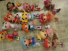 Large Lot Full Size Lalaloopsy Dolls 3 New 12 used
