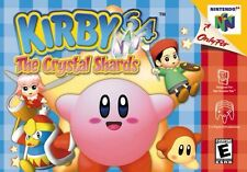 Nintendo 64 N64 Kirby 64: The Crystal Shards Game Cartridge *Cosmetic Wear*