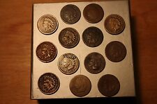 1859-1879 Indian Head Cent Lot FULL Dates 1 COIN KEY 1859-1867 too! and 1878!!!