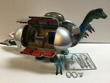 Vintage Dino Riders Diplodocus Near Complete w/Mind-Zei and Accessories