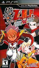 Z.H.P. Unlosing Ranger vs. Darkdeath Evilman, Sony PSP, Complete