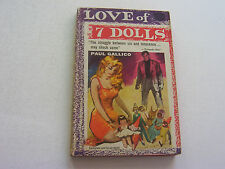 LOVE OF 7 DOLLS 1954  PAUL GALLICO STRUGGLE BETWEEN SIN & INNOCENCE   VERY FINE-