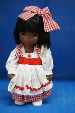 "Precious Moments 12"" Doll Signed 4363 Name Your Own Doll African American (B)"