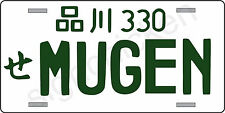 MUGEN TYPE  JAPAN ALUMINUM UNIVERSAL LICENSE PLATE HONDA CIVIC ACCORD RSX R