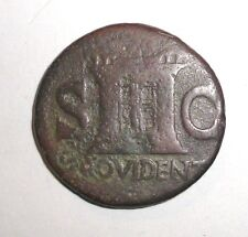 Ancient Roman Empire, Divus Augustus, 31-37 AD. AE As. Struck under Tiberius
