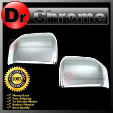 2015-2017 Ford F150 Truck Triple Chrome ABS Mirror Cover Top Half 1 Set 16 17