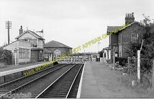 Nafferton Railway Station Photo. Driffield - Lowthorpe. Bridlington Line