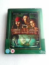 Pirates Of The Caribbean Dead Mans Chest Zavvi Steelbook*NEW SEALED
