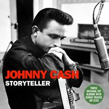 Johnny Cash STORYTELLER With His Hot & Blue Guitar, Fabulous, Sings NEW 3 CD
