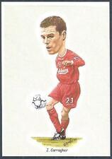 LIVERPOOL FOOTBALL CARDS-2002- #03-JAMIE CARRAGHER
