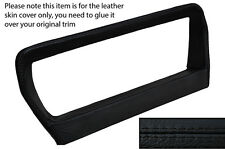 BLACK STITCH SPEEDO SURROUND LEATHER COVER FITS RANGE ROVER VOGUE SE CLASSIC
