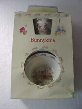 3 PC ROYAL DOULTON BUNNYKINS BREAKFAST SET (BOWL CUP PLATE) In Box