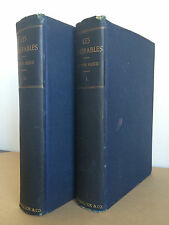 Antique Victor Hugo Les Miserables / Late 1800s / French Revolution Jean Valjean