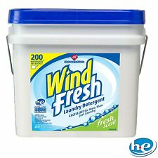 WindFresh Laundry Detergent Bucket 200 Loads - 32.5 lbs Concentrated Powder NEW