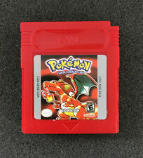 POKEMON RED For Gameboy Colour And GBA. Comes With Case But No Box