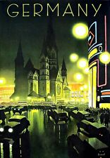 A3 Travel Art Poster Germany German print