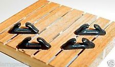 Open Tie Down Chocks (4) Miniature Dockside Waterfront Diorama Accessory Items