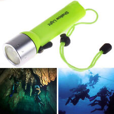 Outdoor Scuba Diving Flashlight XM-L T6 LED Waterproof Torch Underwater Lamp