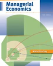 Intl Ed. Managerial Economics by Mark Hirschey 12th ed