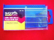 Micro Drill Set    20PC    model, pcb, engineering, jewelry