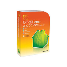 Microsoft  Office Home and Student 2010 32/64-Bit (Retail (License + Media)