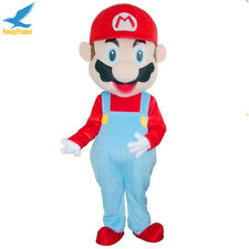 Super Mario Mascot Costume EPE Fancy Dress Outfit Adult Fancytrader Party Cloth