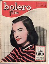 [SM3] RIVISTA BOLERO FILM ANNO 1948 NUMERO 35 ELLA RAINES