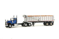 "Caterpillar CT680 Truck w/ East Dump Trailer - ""BLUE"" - 1/50 - WSI #39-1003"