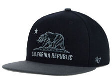 FORTY SEVEN BRAND California Cal Core Two Tone Black Snapback '47 New Era