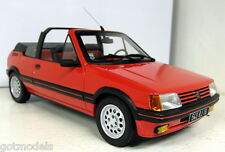 Otto 1/18 Scale Peugeot 205 CTi Bright red Resin cast Model Car