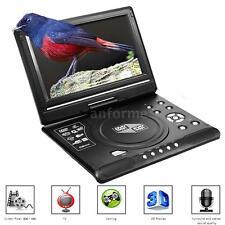 9 inch Portable DVD Player 16:9 TFT Swivel Screen 3D SD USB AV FM, Game, TV V4S2