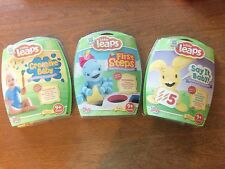 Leap Frog Baby Little Leaps 3 Game Lot New Sealed