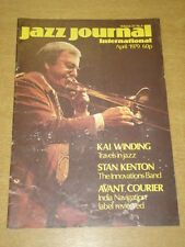 JAZZ JOURNAL INTERNATIONAL VOL 32 #4 1979 APRIL KAI WINDING STAN KENTON