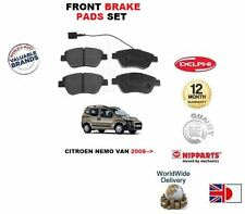 FOR Citroen Nemo VAN 1.4i 1.4TD 2008--  Front Brake Disc Pads Set  OE QUALITY