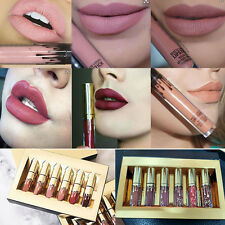 Ky Birthday Limited Edition Collection Gold Matte Liquid Lipstick 6 Colors Set