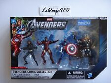 Marvel Universe Walmart Avengers Black Widow Thor Iron Man Captain America