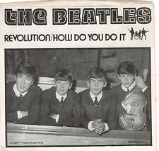 BEATLES-HOW DO YOU DO IT/REVOLUTION- FROM THE PROMO FILM SOUNDTRACK-BLUE WAX