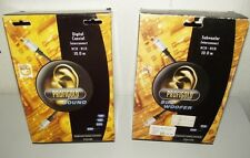 2x PROFIGOLD DIGITAL KOAXIAL VERBINDUNGSKABEL RCA SUBWOOFER 10M CHINCH KABEL 1-P