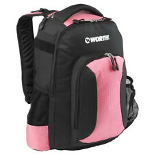 Worth Baseball Softball Bat Backpack, Equipment Bag, Pink and Black