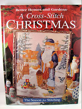 Cross-Stitch Christmas Pattern Book Stockings Characters Better Homes & Garden