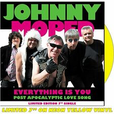 "JOHNNY MOPED - Everything Is You - Vinyl (limited coloured vinyl 7"" NEON YELLOW)"