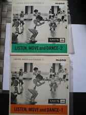 Listen Move and Dance Vinyl Record EP's by Vera Gray - HMV 7EGO 8727 / 8728