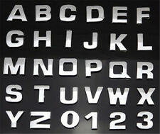 Metallic Car Truck Sticker 26-Letter Alphabet Home Emblem Badge DecalS 1pc